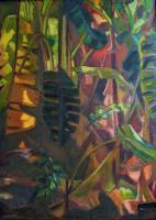 Botanicals - Symphonic Palms - Oil On Canvas