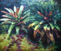 Botanicals - Botanical Beauty - Oil On Canvas