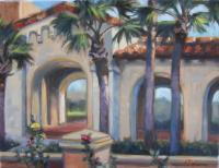 Landscapes - Knowles Arcade - Oil On Canvas