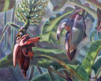 Botanicals - Banana Encore - Oil On Canvas