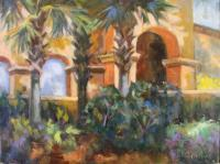Landscapes - Cornell Arches - Oil On Canvas